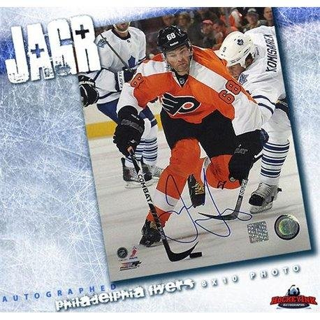 1615227d4 Signed Jaromir Jagr Photograph - 8 x 10 - Autographed NHL Photos at  Amazon s Sports Collectibles Store