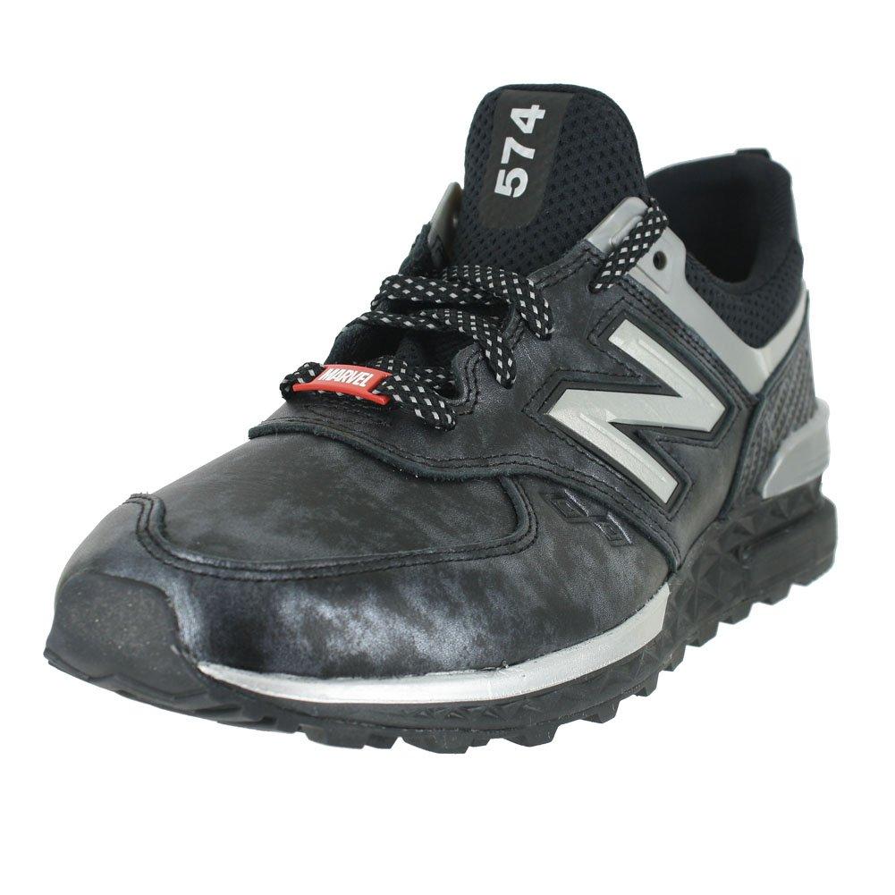 New Balance Men's MS574 SMU Wakanda schwarz Turnschuhe, Panther schwarz Silber Turnschuhe, schwarz 10 774cad