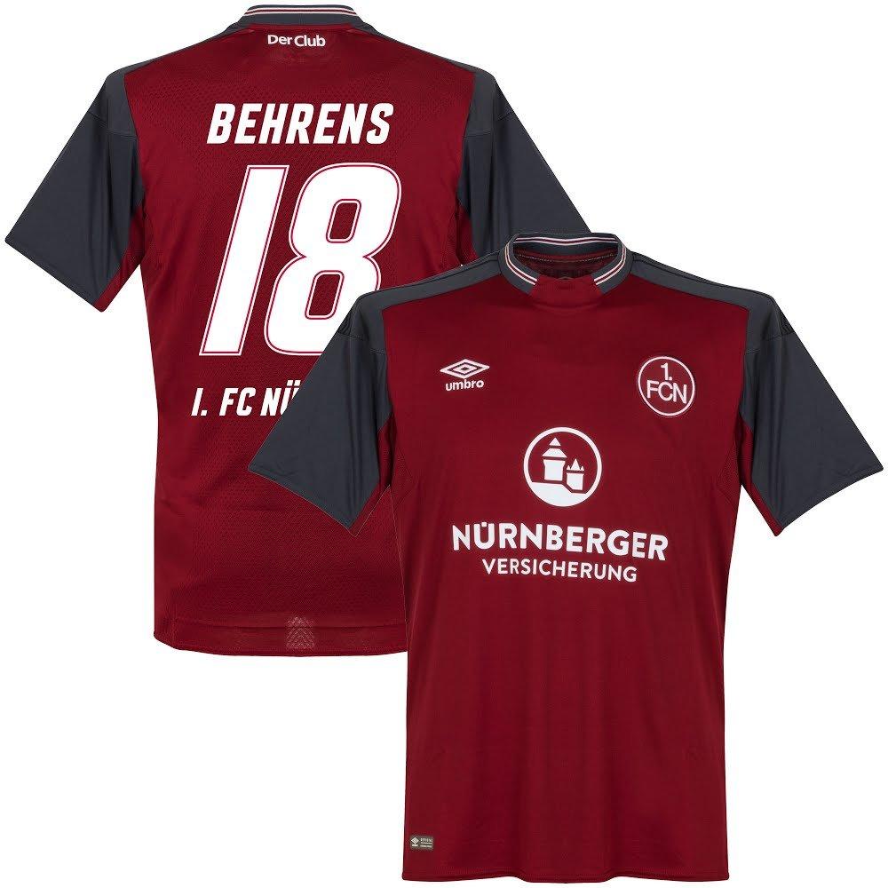 Umbro 1.FC Nurnberg Home Trikot 2017 2018 + Behrens 18 (Fan Style)
