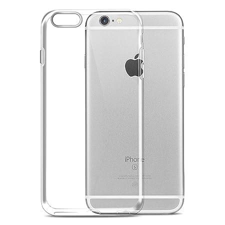 Ylife Handyhülle Kompatibel iPhone 6s, Hülle Kompatibel iPhone 6, Ultra Dünn Transparent Weiche TPU Silikon Schutzhülle, Anti