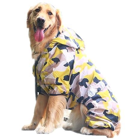 Disfraz de perro con cuatro patas para perros grandes, chaqueta de ...