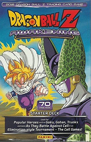 DBZ Awakening Starter Deck - 2016 Panini Dragonball Z TCG Card - Cards Dragon Trading