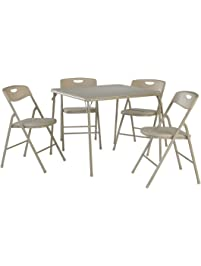 Cosco 5 Piece Folding Table And Chair ...