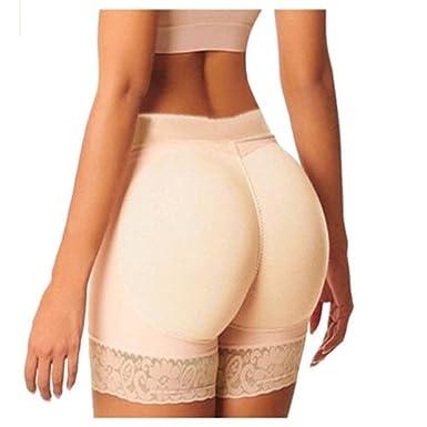 1925301d0d Jeremy Martin Boyshort Panties Woman Fake Ass Underwear Push Up Padded Panties  Shaper Butt Lifter Hip Plus Size at Amazon Women s Clothing store