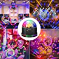SOLMORE Disco Lights for Parties Sound Activated Strobe Light Disco Ball Dj Lights 7Colors Disco Party Lights Show for Parties Wedding DJ Karaoke Outdoor Gift with Remote from SOLMORE