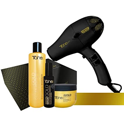 Tahe - Pack Secador Gold Edition