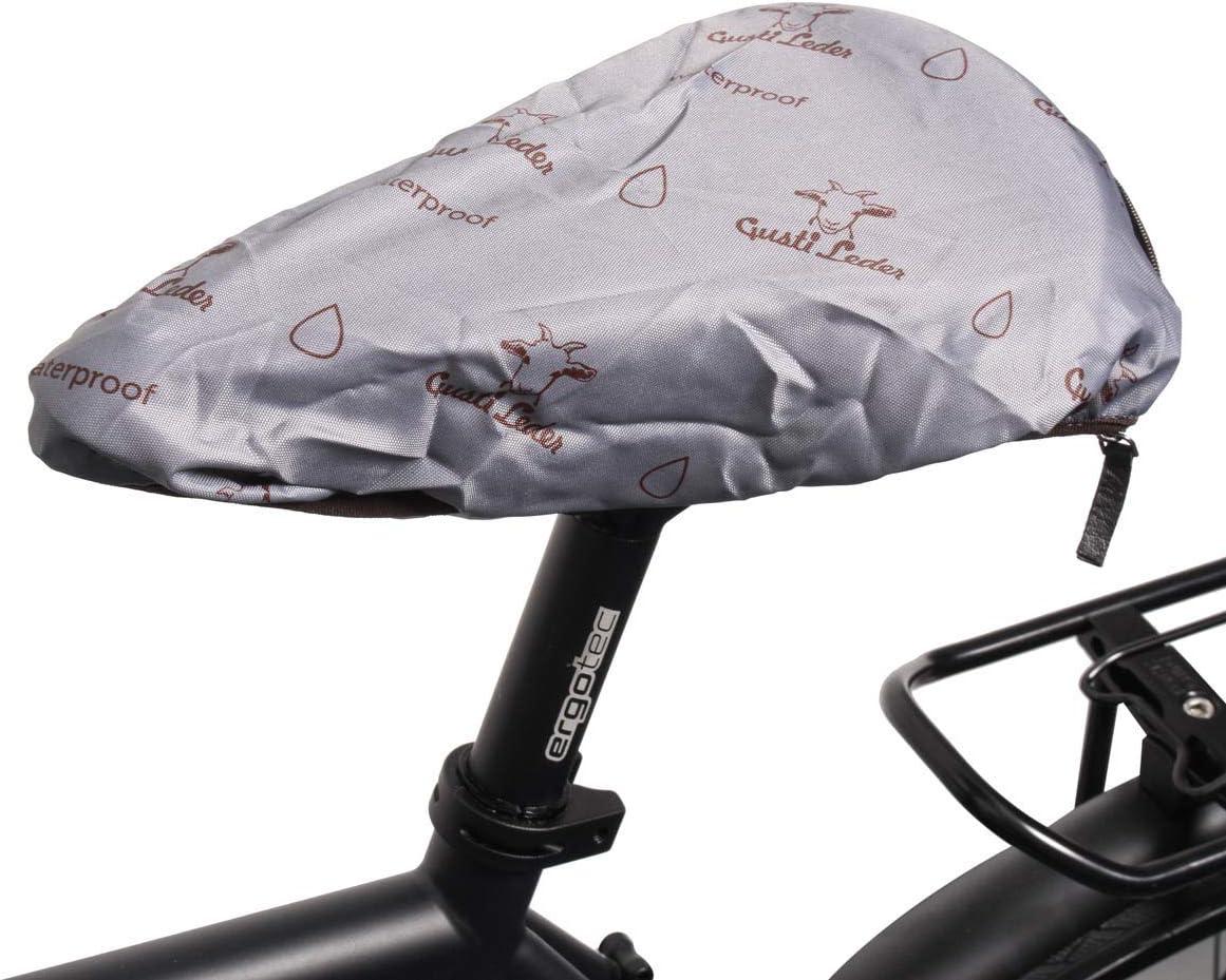 Gusti - Funda impermeable para sillín de bicicleta, color gris ...