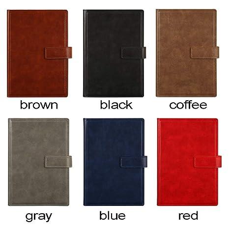 Amazon.com: MINILZY - Cuaderno de piel sintética para ...