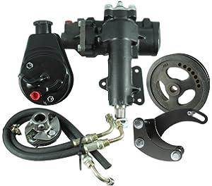 Amazon com: Borgeson 999021 Power Steering Conversion Kit