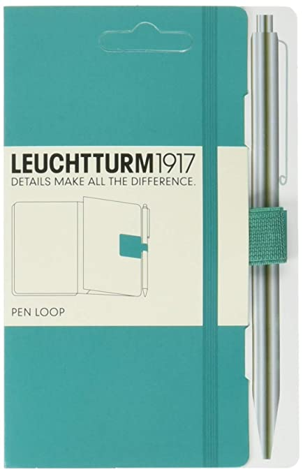 Leuchtturm1917 339275 - Pen loop lazo para bolígrafo, color esmeralda