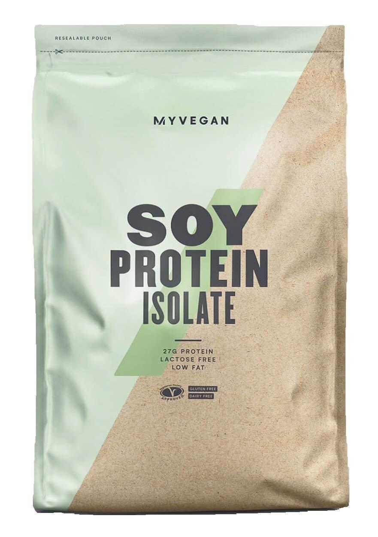 MyProtein Soy Isolate Extracto de Proteína de Suero, Sabor Vainilla - 1000 gr: Amazon.es: Salud y cuidado personal