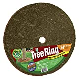 Easy Gardener 24 in. Red & Brown Tree Ring
