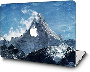 """L2W MacBook Pro 13 Inch Case Plastic Printed Protective Hard Cover for Apple Laptop Mac Pro Oldest 13.3"""" with CD Drive (Released in 2009~2011) Model: A1278,Mountain"""