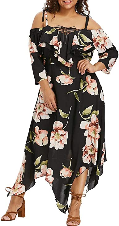 NEW PLUS WOMEN MADE IN USA SUMMER WINE V NECK FLORAL DRESS
