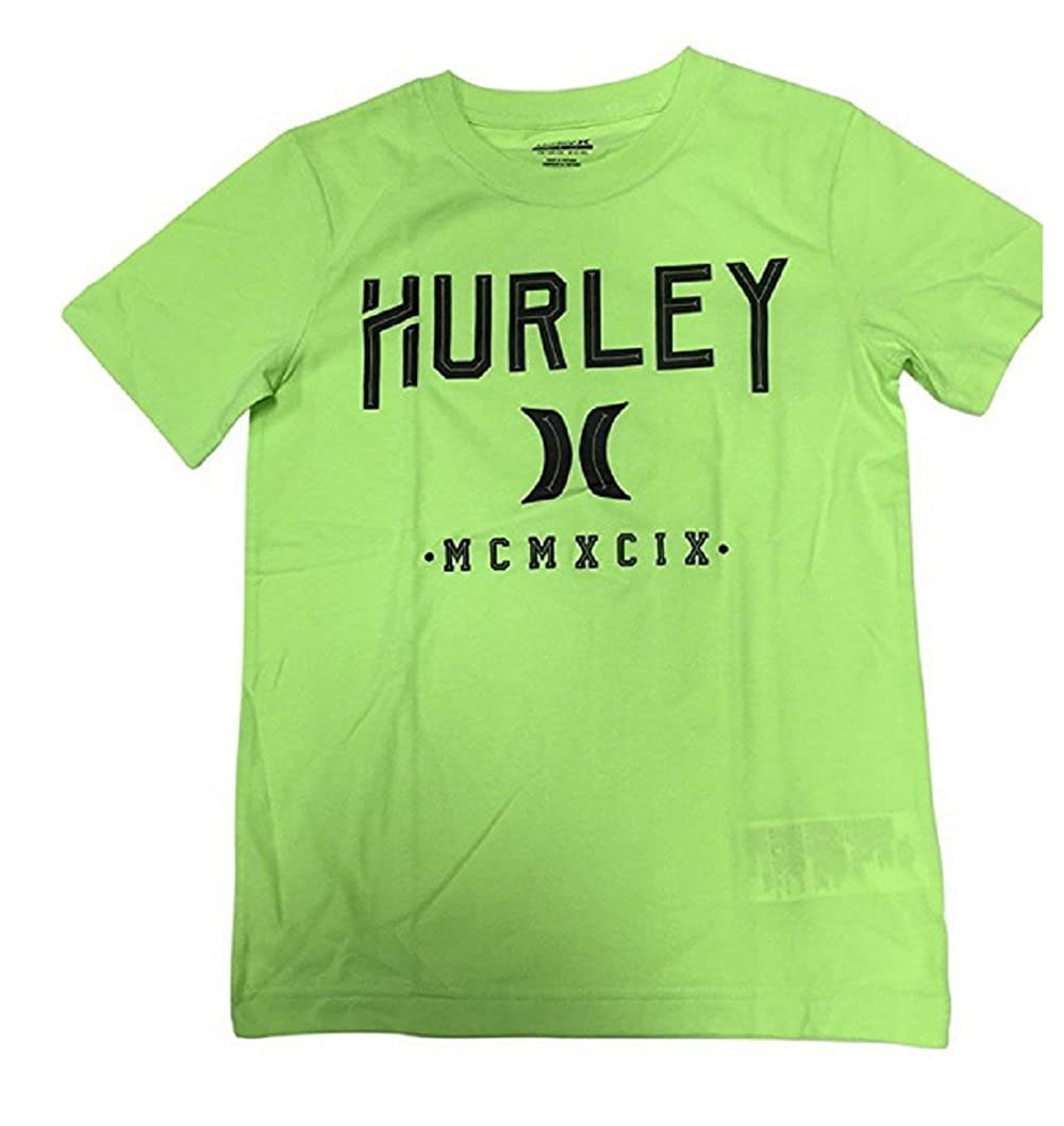 Hurley Boys Tee Shirt Green Size M 10-12