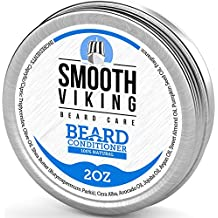 Beard Conditioner for Men - Encourages Growth - All Natural Wax Conditioner that Softens and Soothes Itching - Made with Argan Oil Beeswax and Shea Butter - 2 OZ