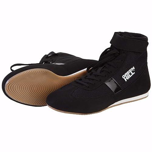 Black , 42 Green Hill Boxing Shoes Short