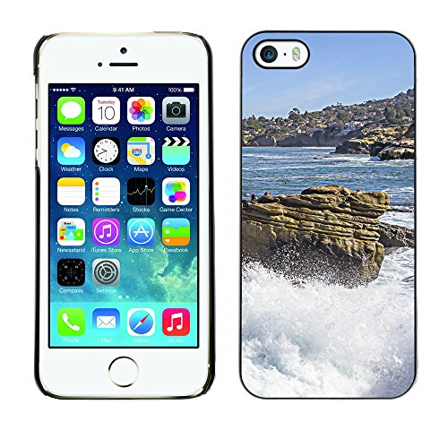 Premio Sottile Slim Cassa Custodia Case Cover Shell // F00012152 côte // Apple iPhone 5 5S 5G