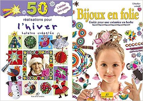 Livre gratuits en ligne Atelier créatif hiver : 50 réalisations pour l'hiver ; Bijoux en folie pdf ebook