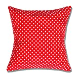 Style Homez Cotton Canvas Star Printed Cushion XL Size Set of 2 Cover Only