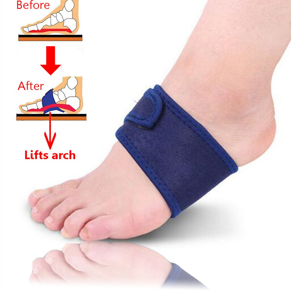 e981d0b976 Amazon.com: Tiemahun Plantar Fasciitis Cushion Arch Support with Gel  Therapy Heel Pain Sleeve for Plantar Fasciitis & Arch Pain 22E: Health &  Personal Care