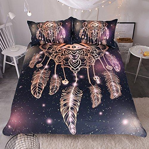 purple black bedding full - 8