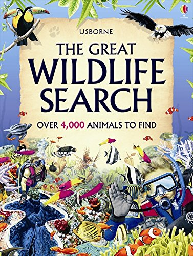 The Great Wildlife Search (Great Searches) by Usborne Publishing Ltd