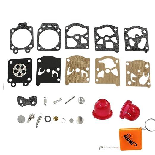 huri Carburador Carb Kit de diafragma Imprimación Bombilla para ...
