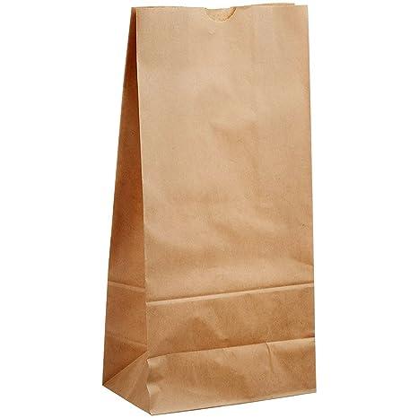 nacpy papel Kraft bolsas de papel bolsa reutilizable Ziplock ...