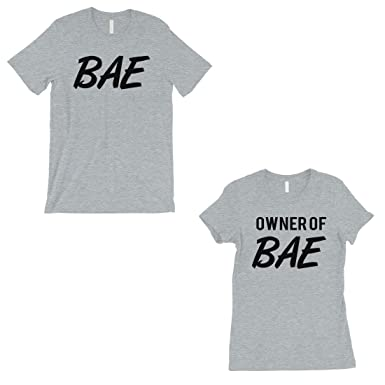 252dcecc84 365 Printing Bae and Owner of Bae Funny Saying Matching Couples Gifts Shirts