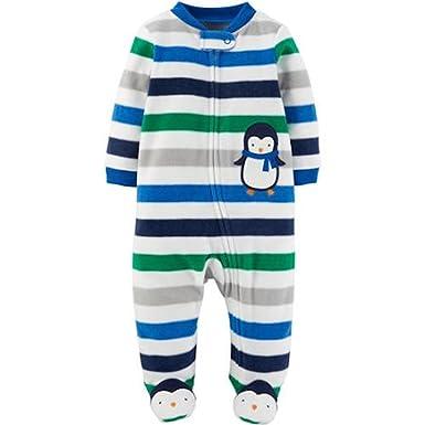 f2d9effd5a7c Amazon.com  Carter s Child of Mine Newborn Baby Boy Zip Up ...