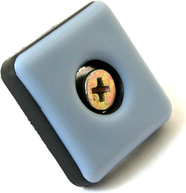 rev/êtement en PTFE incl 32 patins en t/éflon pour meubles ou chaises,/25/mm/x/25/mm,/5/mm d/épaisseur vis de 3,5/mm/x/20/mm