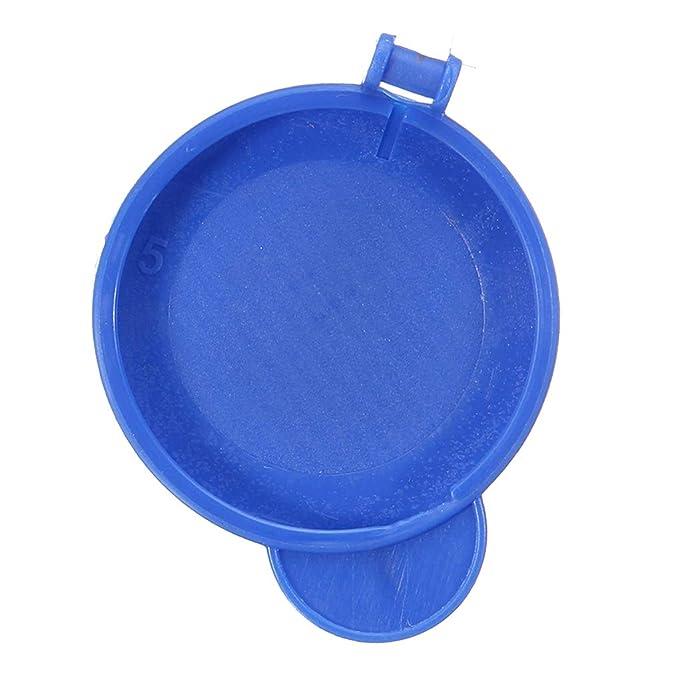 Uzinb Azul lavaparabrisas en la cápsula Compatible para Ford Fiesta MK6 2001-2008 1.488.251 2S61 17632AD: Amazon.es: Hogar