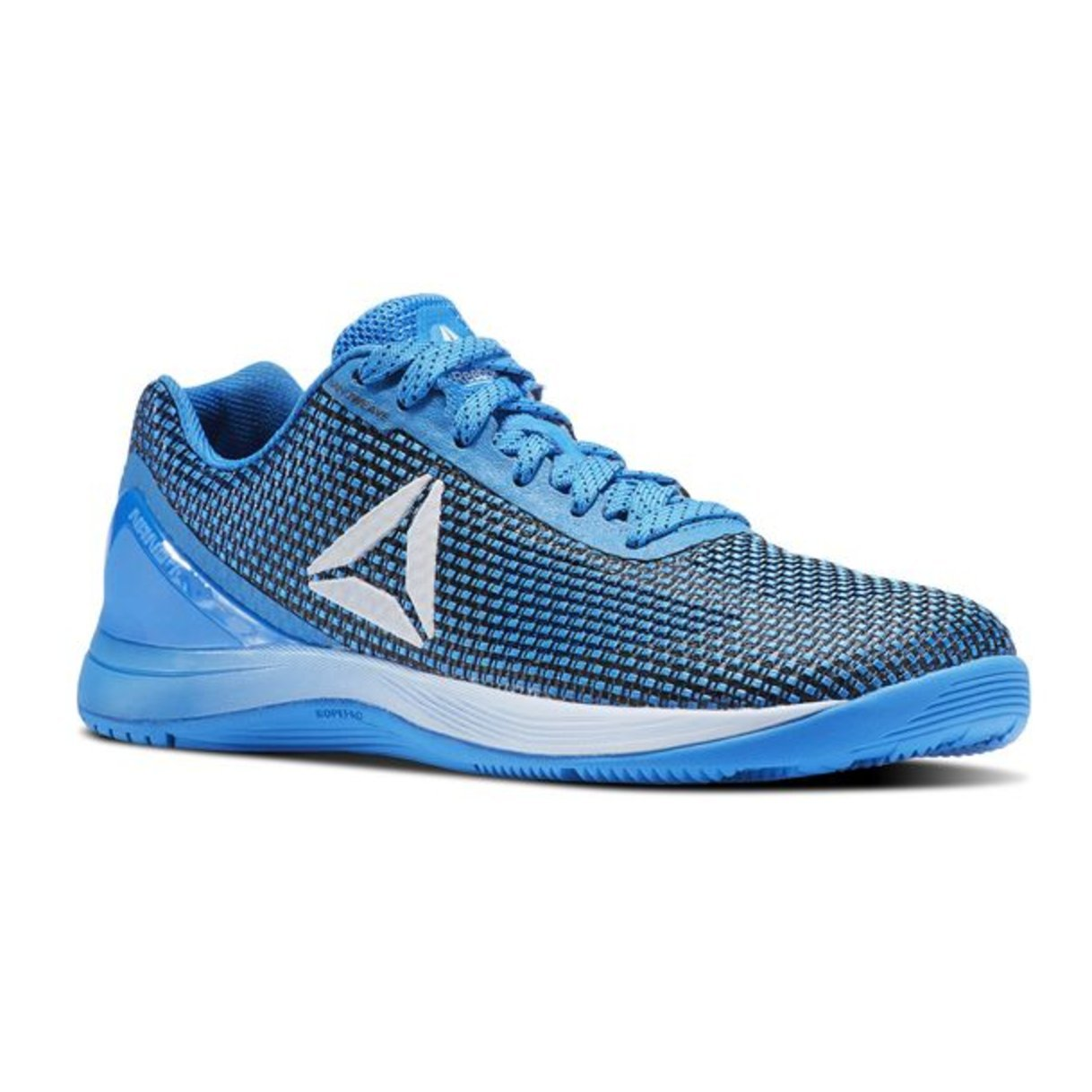 Reebok Women's Crossfit Nano 7.0 Track Shoe B076C787SX 5.5 B(M) US|Blue/Black/Silver/White