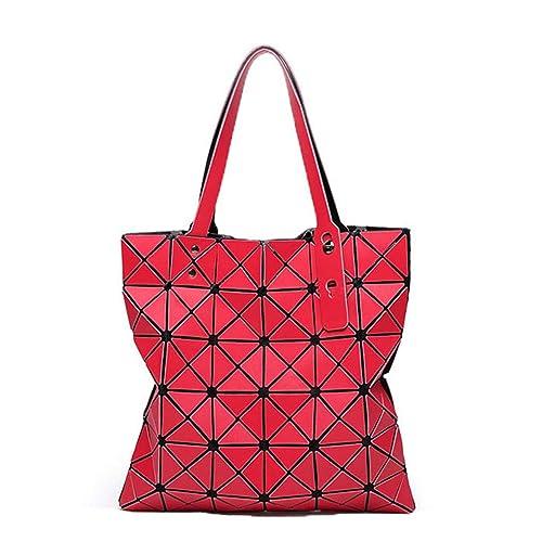 2b81d49d362 Bao Diamond Lattice Tote Matte 6 * 6 Handbag Ladies Geometry Women Beach  Shoulder Bag Lucent