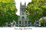 Boston College Lithograph