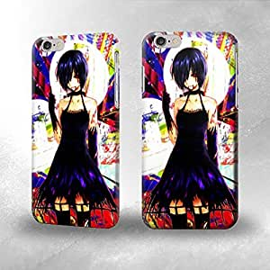 Apple iPhone 5 / 5S Case - The Best 3D Full Wrap iPhone Case - makeup kiss music band music bands black background demon gene simmons makenshi chrona paul stanley