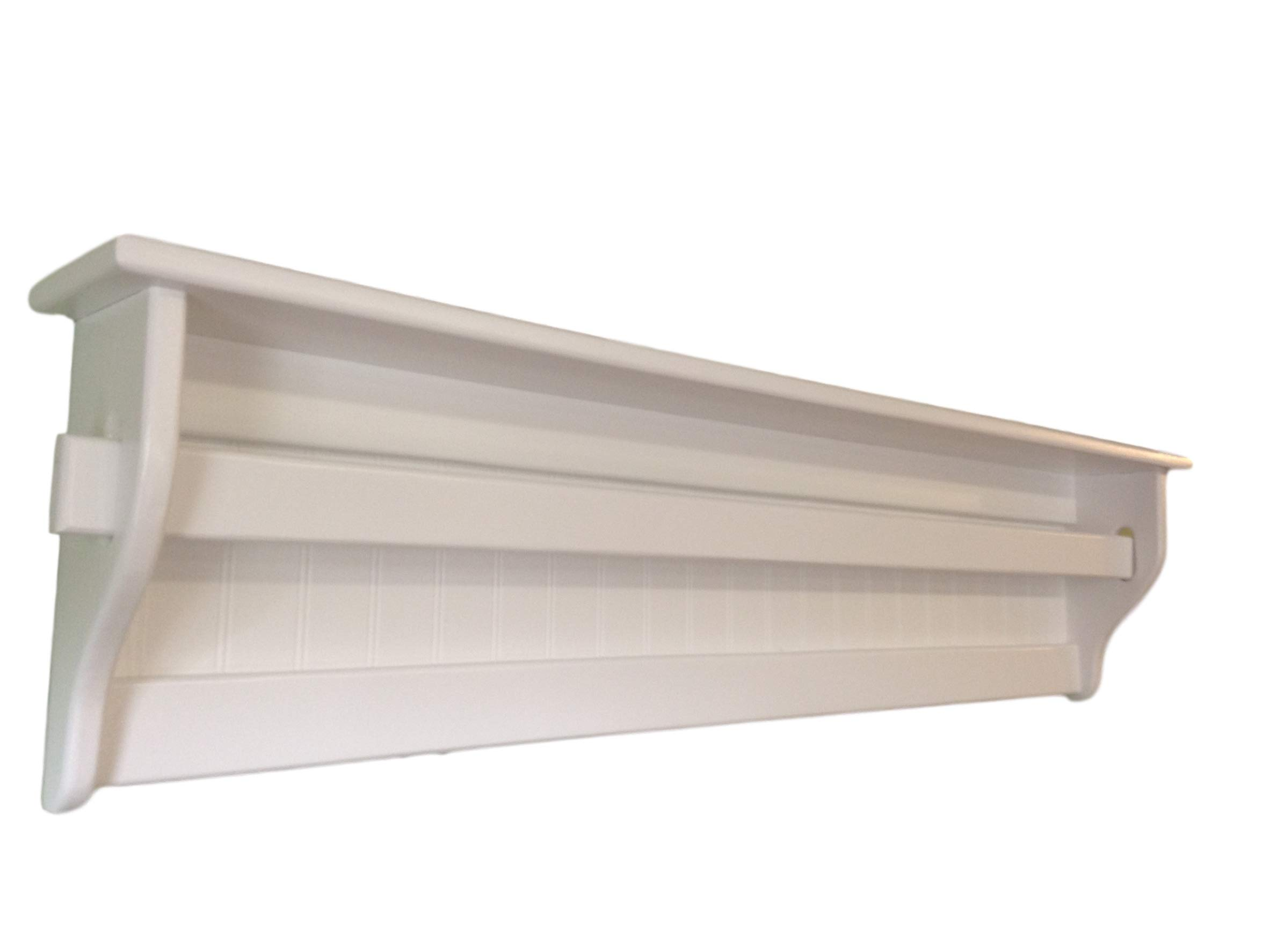 Wall Quilt Hanger with Shelf