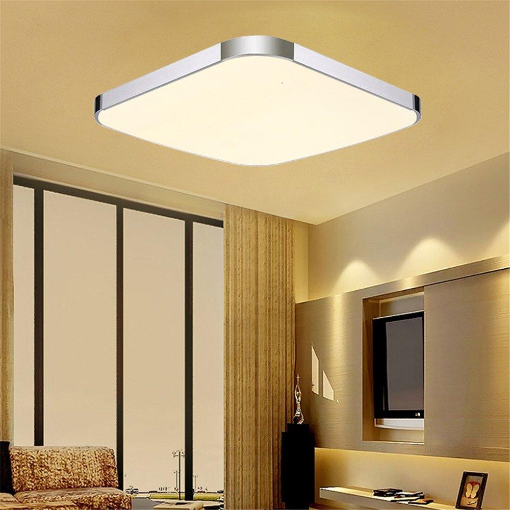 Plafonnier applique LED luminaire plafond mural verre éclairage couloir chambre