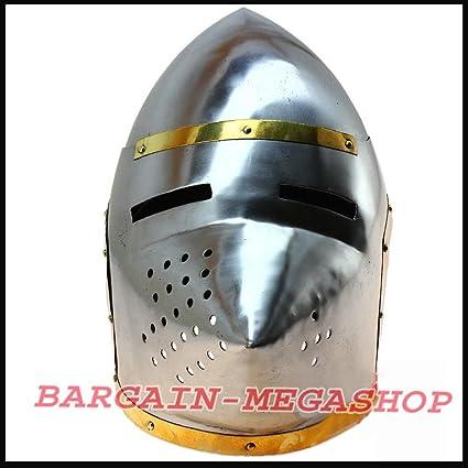 Europea Pig cara casco Medieval Amour cascos hierro Armor casco