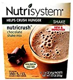 Nutrisystem NUTRICRUSH Craving Crusher, 3-PACK, NEW & IMPROVED Chocolate Shake Mix + FREE BEVERAGE BOTTLE. 3 Boxes. Contains 5-1.4 oz Packets.
