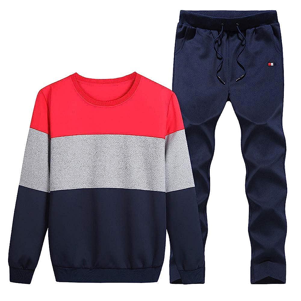 Ennglun-Men Pants PANTS メンズ XX-Large レッド B07H7DM2XJ