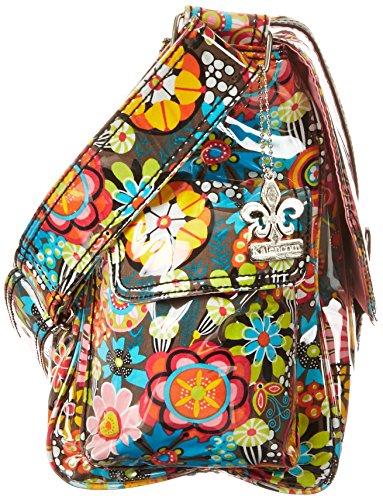 Kalencom Laminated Buckle Bag, Retro Floral by Kalencom (Image #2)