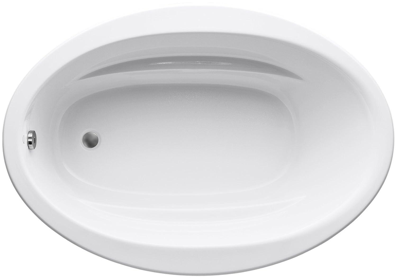 KOHLER K-1163-0 Sunward 5-Foot Bath, White - Freestanding Bathtubs ...