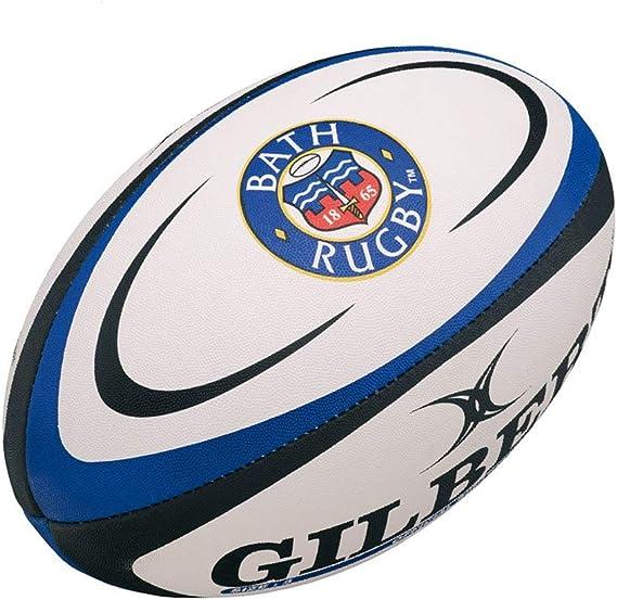 Balón de Rugby del Club Bath - Tamaño 2 - Marca Gilbert: Amazon.es ...