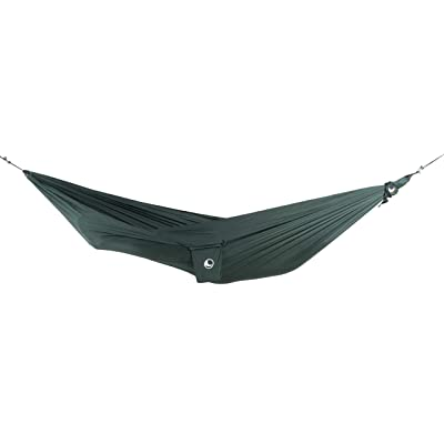 TICKETTOTHEMOON Ticket to The Moon Compact Hammock + Express Bag + S-Hook | 320x155 cm (Forest Green): Garden & Outdoor