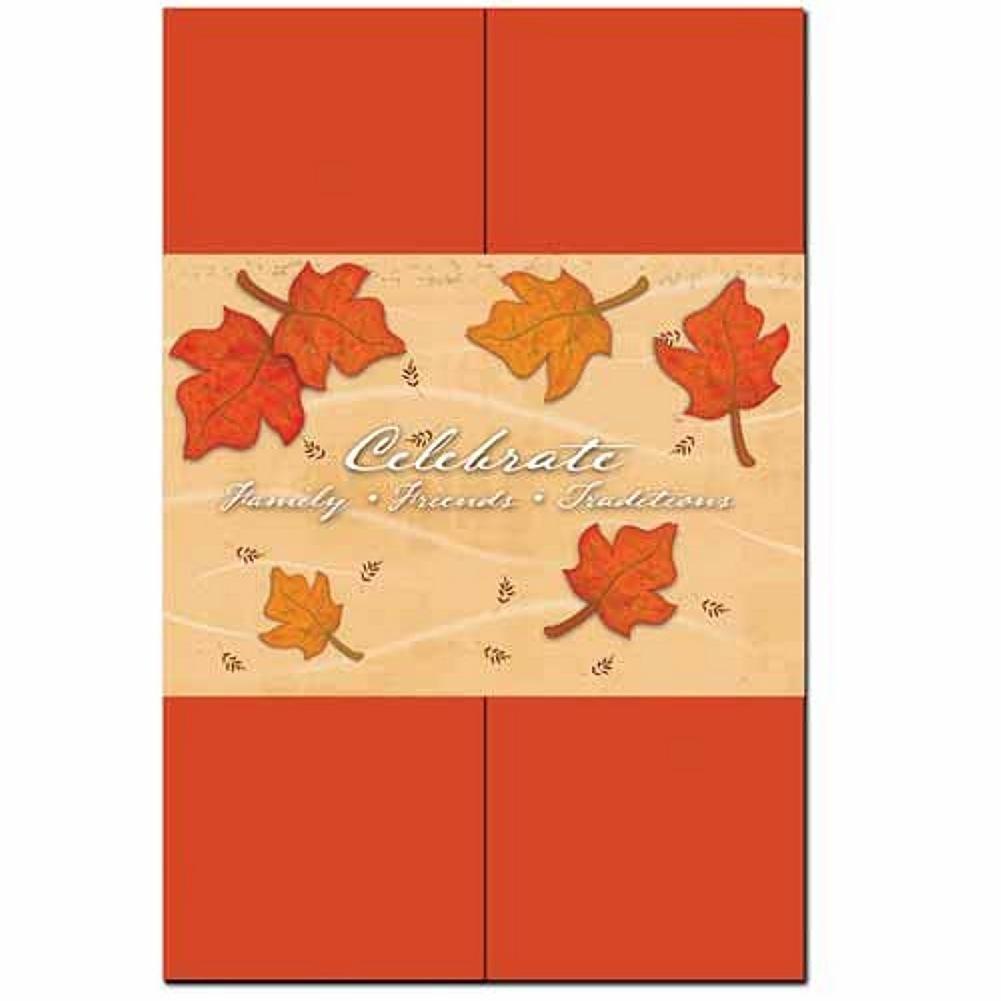 ISO Falling Leaves Invitation Kit - 60 Pack