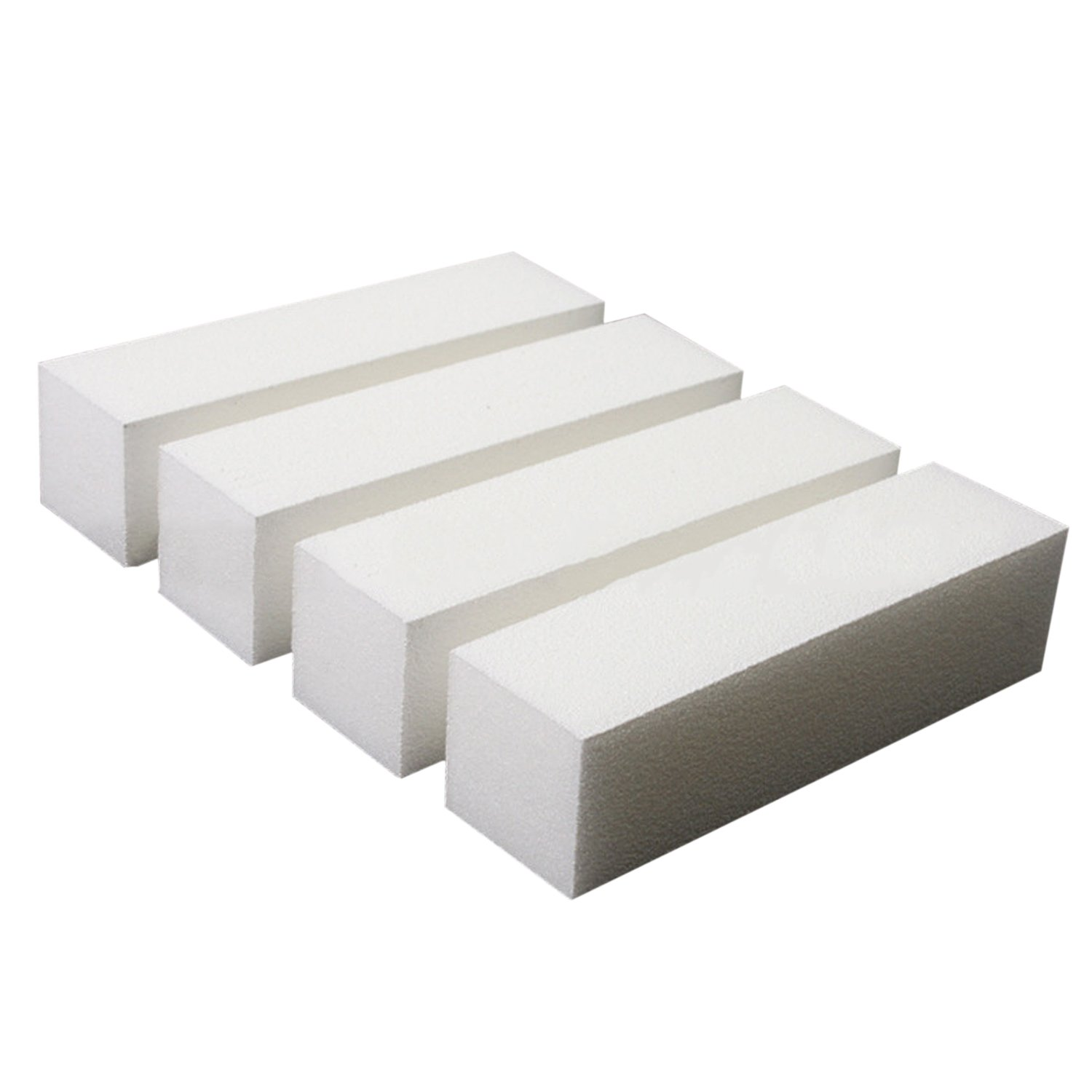 10pcs Nail Art Care Buffer Buffing Sanding Block Files Grit Acrylic Tool White Elisona
