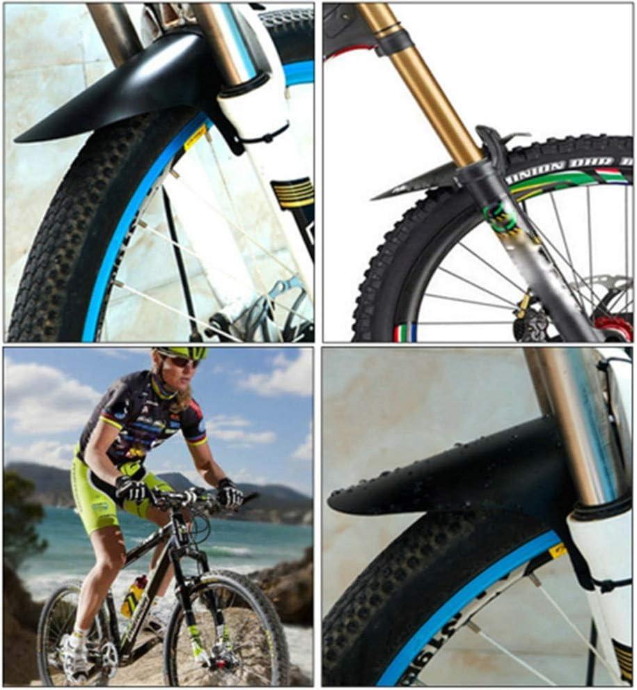 TianranRT MTB Guardabarros Bicicleta Frontal Satisfacción Barro ...