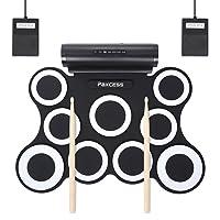 PAXCESS Electronic Drum Set 9 Pads Electric Drum Set Deals